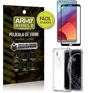 Kit Película 3D Fácil Aplicação LG G6 Película 3D + Capa Anti Impacto - Armyshield