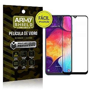 Película 3D Fácil Aplicação Samsung Galaxy A10 Película 3D - Armyshield