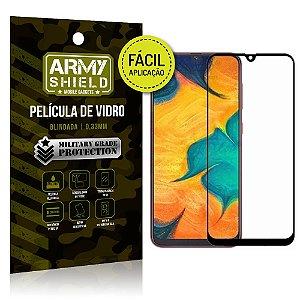 Película 3D Fácil Aplicação Samsung Galaxy A20 Película 3D - Armyshield