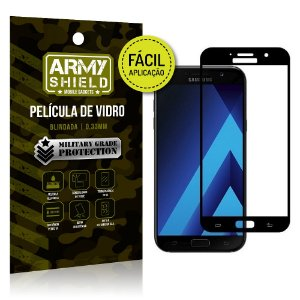 Película 3D Fácil Aplicação Galaxy A3 (2017) Película 3D - Armyshield