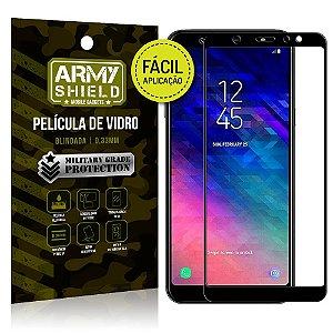 Película 3D Fácil Aplicação Samsung Galaxy A6 Película 3D - Armyshield