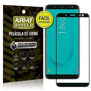 Película 3D Fácil Aplicação Galaxy J6 (2018) Película 3D - Armyshield