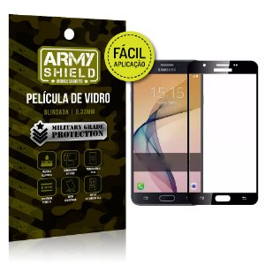 Película 3D Fácil Aplicação Galaxy J7 Prime Película 3D - Armyshield