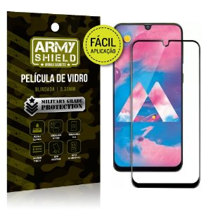 Película 3D Fácil Aplicação Samsung Galaxy M30 Película 3D - Armyshield