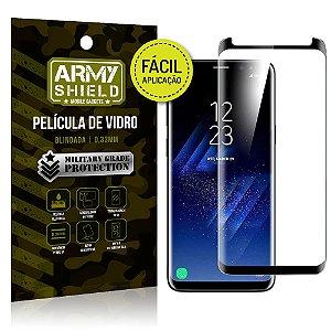 Película 3D Fácil Aplicação Samsung Galaxy S8 Película 3D - Armyshield