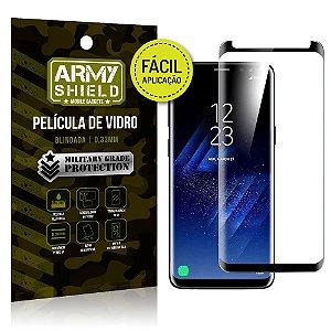 Película 3D Fácil Aplicação Samsung Galaxy S8 Plus Película 3D - Armyshield
