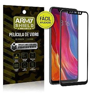 Película 3D Fácil Aplicação Xiaomi Mi 8 Película 3D - Armyshield