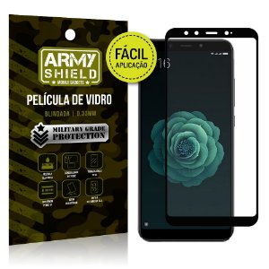 Película 3D Fácil Aplicação Xiaomi Mi A2 (Mi 6X) Película 3D - Armyshield