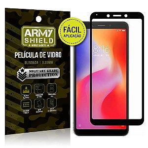Película 3D Fácil Aplicação Xiaomi Redmi 6 Película 3D - Armyshield