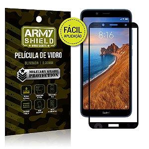 Película 3D Fácil Aplicação Xiaomi Redmi 7A Película 3D - Armyshield