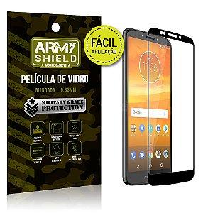 Película 3D Fácil Aplicação Motorola Moto E5 Plus Película 3D - Armyshield