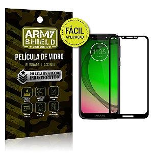 Película 3D Fácil Aplicação Motorola Moto G7 Play Película 3D - Armyshield