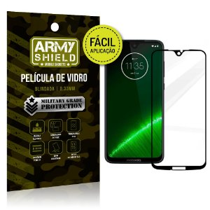 Película 3D Fácil Aplicação Motorola Moto G7 Plus Película 3D - Armyshield