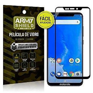 Película 3D Fácil Aplicação Motorola Moto One Película 3D - Armyshield