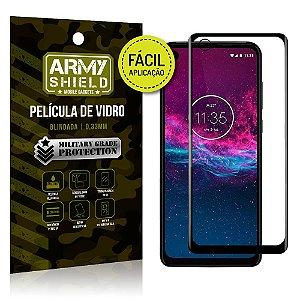 Película 3D Fácil Aplicação Motorola Moto One Zoom Película 3D - Armyshield