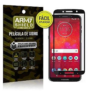 Película 3D Fácil Aplicação Motorola Moto Z3 Play Película 3D - Armyshield