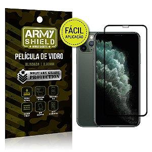 Película 3D Fácil Aplicação Apple iPhone 11 Pro Max 6.5 - Armyshield