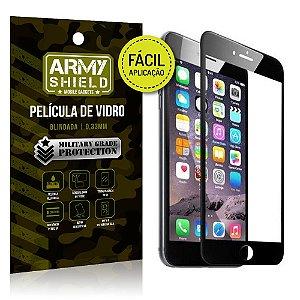 Película 3D Fácil Aplicação Apple iPhone 6 - 6S Película 3D - Armyshield