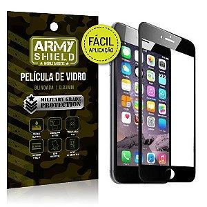 Película 3D Fácil Aplicação Apple iPhone 6 Plus - 6S Plus - Armyshield