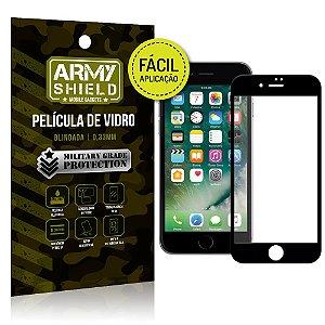 Película 3D Fácil Aplicação Apple iPhone 8 Película 3D - Armyshield