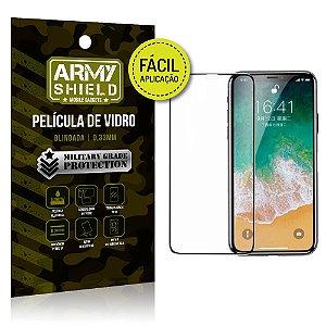 Película 3D Fácil Aplicação Apple iPhone X Película 3D - Armyshield
