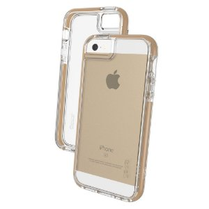 Case Anti Impacto Iphone 5-5S-SE Gear4 Piccadily Gold