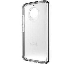 Case Anti Impacto Motorola E4 Plus Gear4 Piccadily Dark
