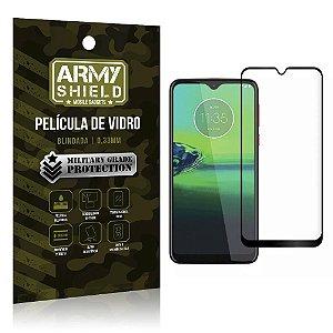Película de Vidro 3D Cobre a Tela Toda Blindada Moto G8 Plus - Armyshield