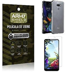 Kit Anti Impacto LG K40s Capinha Anti Impacto + Película de Vidro - Armyshield