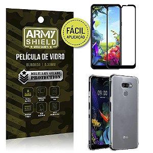 Kit Película 3D Fácil Aplicação LG K40s Película 3D + Capa Anti Impacto - Armyshield