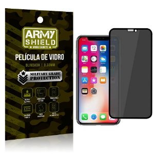 Película de Vidro 3D Privacidade iPhone 11 - Armyshield