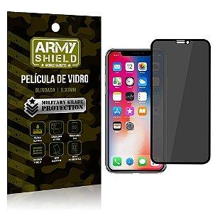Película de Vidro 3D Anti Espião Curioso iPhone 11 - Armyshield