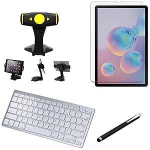 Kit Office Samsung Galaxy Tab S6 10.5' T865 Suporte + Teclado + Película +Caneta - Armyshield