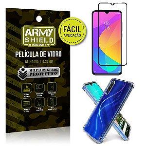 Kit Película 3D Fácil Aplicação Mi 9 Lite Película 3D + Capa Anti Impacto - Armyshield