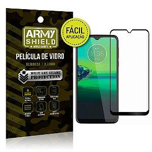 Película 3D Fácil Aplicação Moto G8 Plus - Armyshield