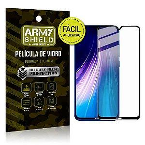 Película 3D Fácil Aplicação Mi Note 8 - Armyshield