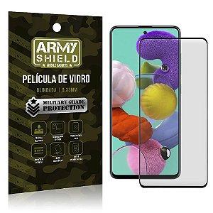 Película de Vidro 3D Cobre a toda a tela Blindada Galaxy A51 - Armyshield
