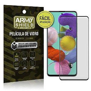 Película de Vidro 3D de Fácil Aplicação Galaxy A51 - Armyshield