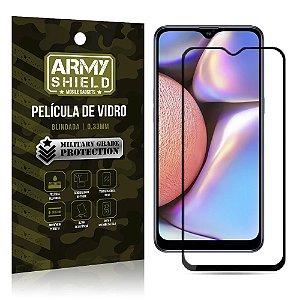 Película de Vidro 3D Cobre a Tela Toda Blindada Galaxy A10S - Armyshield