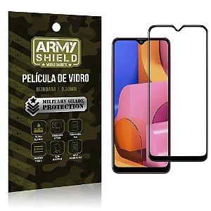 Película de Vidro 3D Cobre a Tela Toda Blindada Galaxy A20S - Armyshield