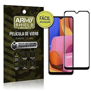 Película de Vidro 3D Fácil Aplicação Galaxy A20S - Armyshield