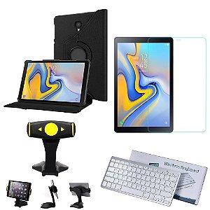 Kit Office Samsung Galaxy Tab A 10.5' T590/T595 Capa + Suporte + Teclado + Película - Armyshield