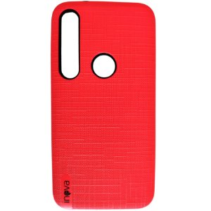 Capa Anti Impacto Inova Moto G8 Plus Vermelha