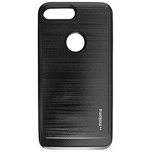 Capa Anti Impacto Motoma iPhone 7 Plus 8 Plus Preta