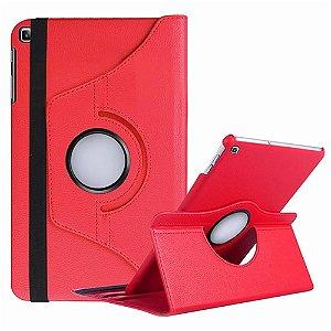 Capa Giratória Galaxy Tab A 10.1' T515/T510 Vermelha - Armyshield
