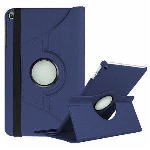 Capa Giratória Galaxy Tab A 10.1' T515/T510 Azul Marinho - Armyshield