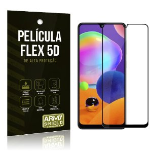 Película Flex 5D Cobre a Tela Toda Blindada Galaxy A31 - Armyshield