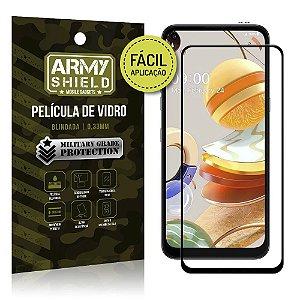Película de Vidro 3D de Fácil Aplicação LG K61 - Armyshield