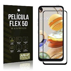Película Flex 5D Cobre a Tela Toda Blindada LG K61 - Armyshield