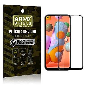 Película de Vidro 3D Cobre a tela toda Galaxy A11 - Armyshield